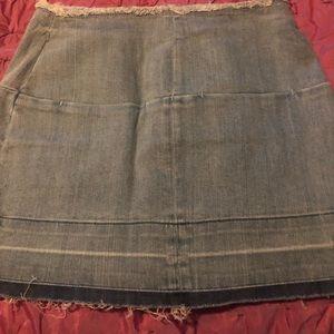 NWT BULLHEAD DENIM CO. Mini Skirt SZ 27 🌈🌚🔥